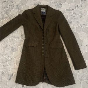 Free people size 0 wool coat